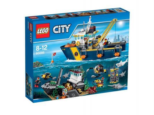 Конструктор Lego City Корабль исследователей морских глубин 717 элементов 60095