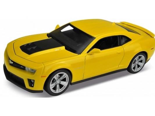 Автомобиль Welly Chevrolet Camaro ZL1 1:24 желтый на р/у 84017