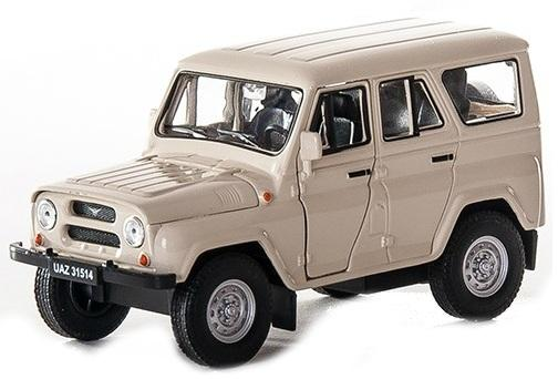 Автомобиль Welly УАЗ 31514 1:34-39 4891761238049 welly модель машины уаз 31514 милиция welly