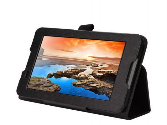 Чехол IT BAGGAGE для планшета Lenovo Tab 2 A7-30HC 7 ультратонкий искуственная кожа hard case черный ITLNA7302-1