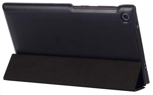 "Чехол IT BAGGAGE для планшета Lenovo Tab 2 A7-30HC 7"" ультратонкий искуственная кожа hard case черный ITLNA7302-1 чехол для планшета it baggage для lenovo ideatab 2 a7 30 7 красный itlna7302 3 itlna7302 3"