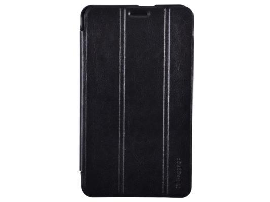 """Чехол IT BAGGAGE для планшета Huawei Media Pad X2 7"""" ультратонкий искуственная кожа черный"""