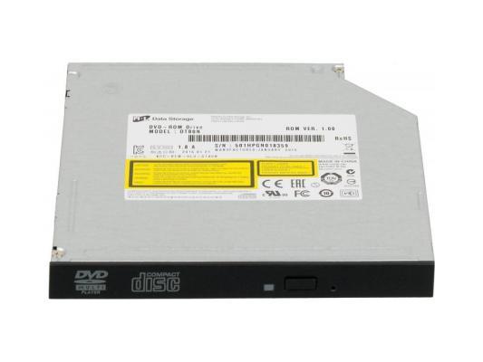 Привод для ноутбука DVD-ROM LG DTB0N/DTC0N SATA черный OEM привод для ноутбука blu ray lg bu40n sata черный oem