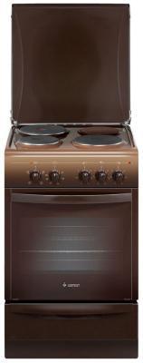 Электрическая плита Gefest 5140 0001 коричневый