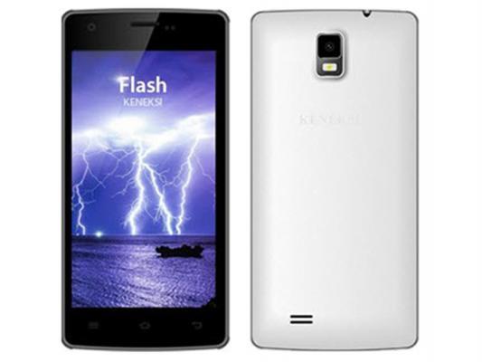 """Смартфон KENEKSI Flash белый 4.7"""" 4 Гб GPS Wi-Fi"""