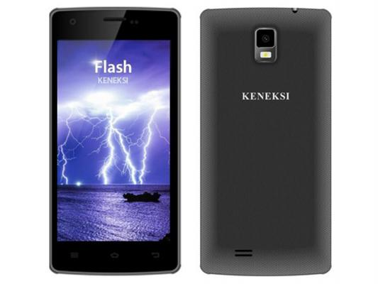 "Смартфон KENEKSI Flash черный 4.7"" 4 Гб Wi-Fi GPS 3G"