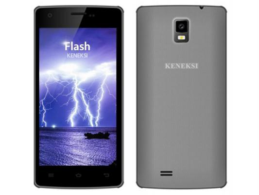 "Смартфон KENEKSI Flash серый 4.7"" 4 Гб Wi-Fi GPS 3G"