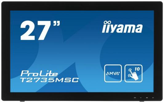 Монитор 27 iiYama Pro Lite T2735MSC-B2 монитор 24 iiyama pro lite xb2483hsu b2