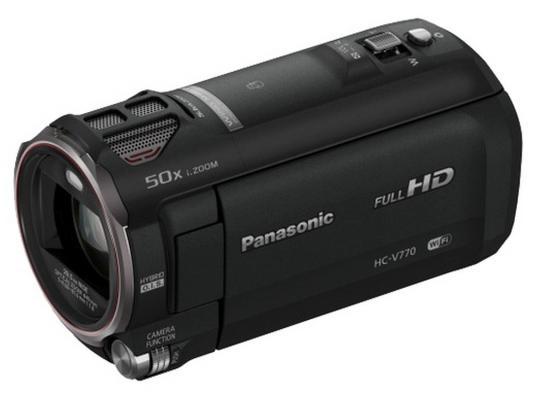 Цифровая видеокамера Panasonic HC-V770 черный panasonic hc v160 black цифровая видеокамера