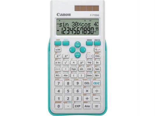 Калькулятор Canon F-715SG-WHB 12 разрядов двойное питание бело-голубой
