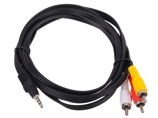 Кабель соединительный Telecom 3.5Jack (M)-3хRCA(M) TAV4545-2M кабель jack jack vention кабель minijack jack 2 m