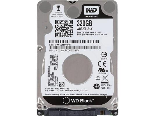 "Жесткий диск для ноутбука 2.5"" 320 Gb 7200rpm 32Mb cache Western Digital Black SATAIII WD3200LPLX"
