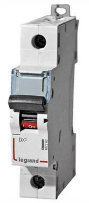 Автоматический выключатель Legrand DX3 6kA/10кА тип B 1п+N 16А 407475