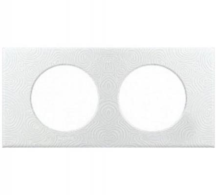 Рамка Legrand 2 поста белый 31611 matrix 31611