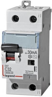 Выключатель дифференциального тока Legrand DX3 1П+Н C32А 30MA-AC 411005