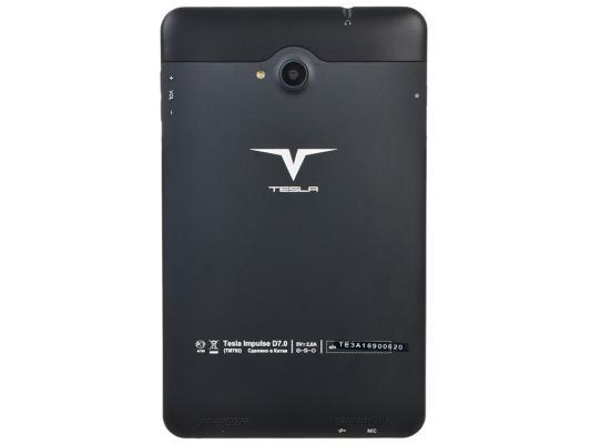 """все цены на Планшет Tesla Impulse D7.0 8Gb 7"""" 1280x800 MT8382 1.2Ghz 1Gb 3G Wi-Fi Android черный"""