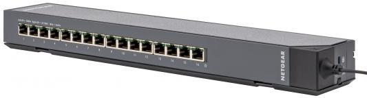 Коммутатор NetGear GSS116E-100EUS управляемый 16 портов 10/100/1000Mbps шлифовальная машина bosch gss 230 ave professional