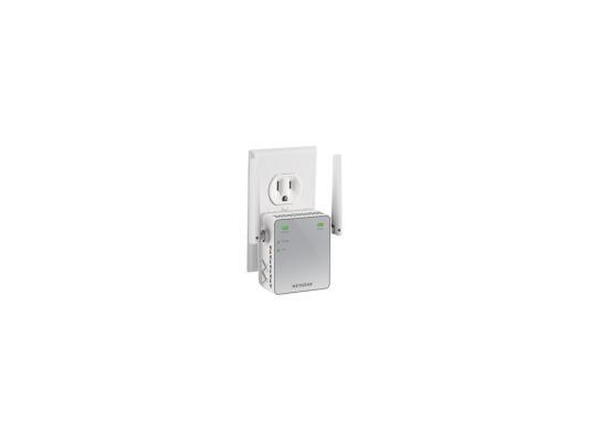 Ретранслятор NETGEAR EX2700-100PES 802.11n 300Mbps точка доступа netgear wnap320 100pes 802 11n 300mbps 2 4ггц 20dbm gblan