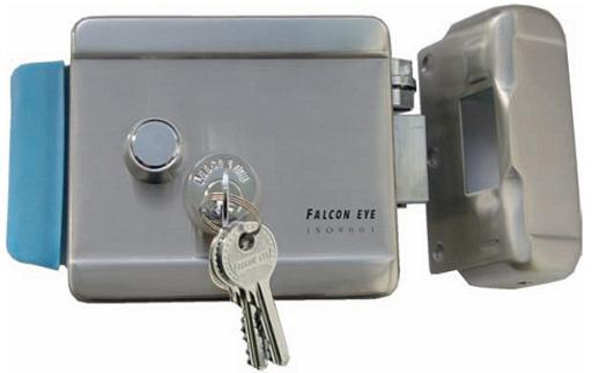 Накладной электромеханический замок Falcon Eye FE-2369 замок электромеханический falcon eye fe 2369i серый