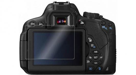 Защитная пленка Polaroid для Canon 1200D прозрачная защитная пленка для canon 1100d polaroid прозрачная