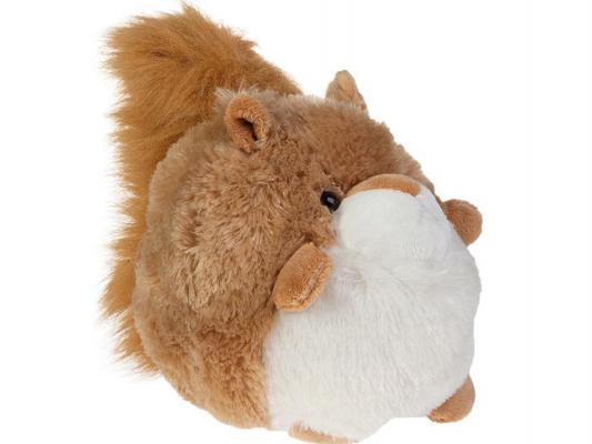 Мягкая игрушка белка Gulliver Пушистый хвостик, пуфик искусственный мех коричневый 51 см 14-F71057C