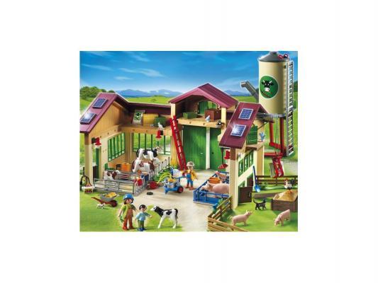 Конструктор Playmobil Ферма: Новая ферма с силосной башней 401 элемент 5119pm