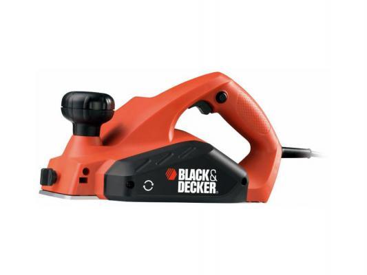 Рубанок Black & Decker KW712KA 650Вт 82мм электрический рубанок black decker kw 712 ka