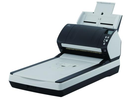 Сканер Fujitsu-Siemens fi-7260 протяжный A4 600x600 dpi CCD 60ppm duplex черный PA03670-B551