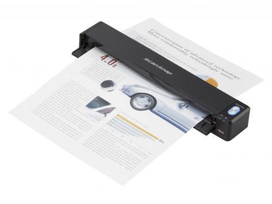 Сканер Fujitsu ScanSnap iX100 протяжный А4 600x600 dpi CIS USB Wi-Fi черный