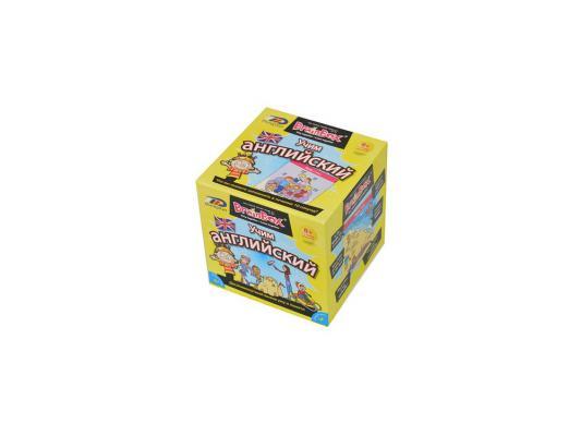Настольная игра BrainBox развивающая Учим Английский 90752 настольная игра настольная обучающая электровикторина английский язык 0 37 0 24 0 045