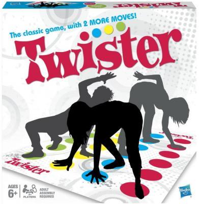 Напольная игра Hasbro Твистер 2 98831 интерактивная игра hasbro твистер