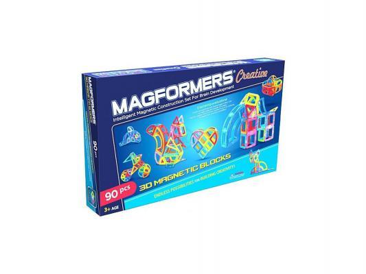 Магнитный конструктор Magformers Creative 90 90 элементов 63118 магнитный конструктор magformers space treveller set 35 элементов 703007