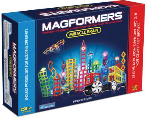 Магнитный конструктор Magformers Miracle Brain set 298 элементов 63093