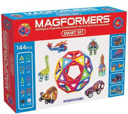 Магнитный конструктор Magformers Smart Set 144 элемента 63082