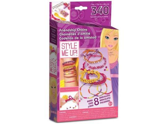 Набор для украшений Style Me Up Браслетики для подружек от 7 лет 562 style me up style me up фенечки для подружек