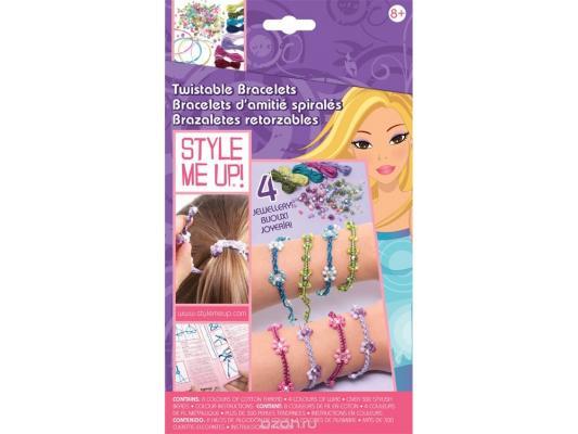 Набор для творчества Style Me Up Закручивающиеся браслеты от 8 лет 552 wooky style me up мастерская уникальных браслетов