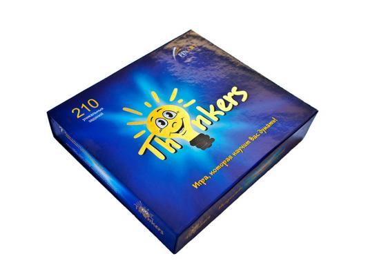 Настольная игра THINKERS логическая 12210 настольная игра thinkers башня таварра 0708