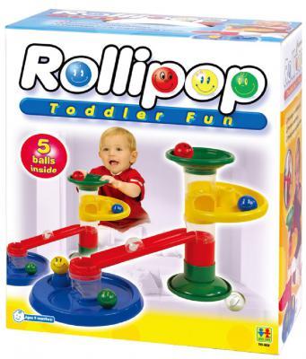 Конструктор TOTOTOYS Крутые виражи Rollipop 15 элементов 803