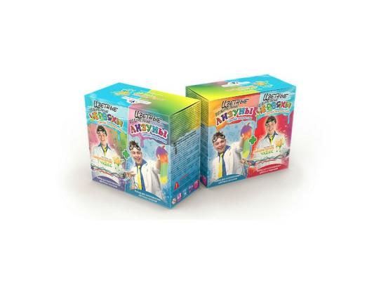 Игровой набор Инновации для детей Цветные червяки и лизуны 827 плашка зубр 4 28023 08 1 25