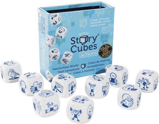 Настольная игра Кубики историй семейная Действия RSC2