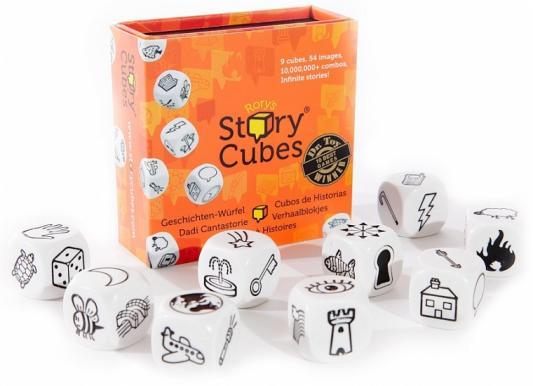 Настольная игра Кубики историй семейная Rory's Story Cubes Original RSC1RU01 настольная игра семейная rorys story cubes кубики историй бэтмен rsc104