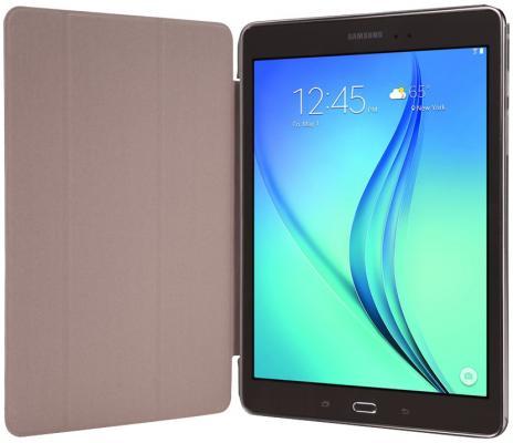 """Чехол IT BAGGAGE для планшета SAMSUNG Galaxy Tab A 8"""" hard case черный с прозрачной задней стенкой ITSSGTA8007-1"""