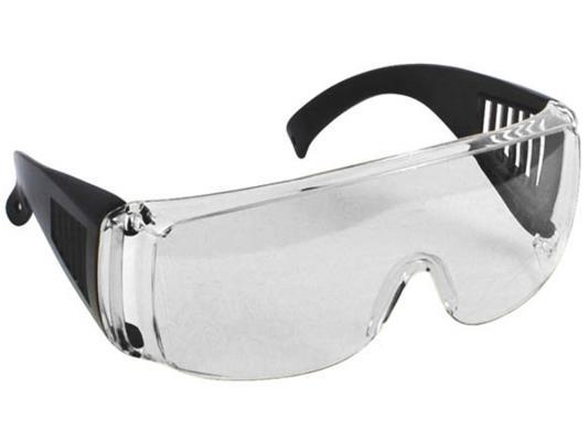 Защитные очки Fit 12219 с дужками прозрачные