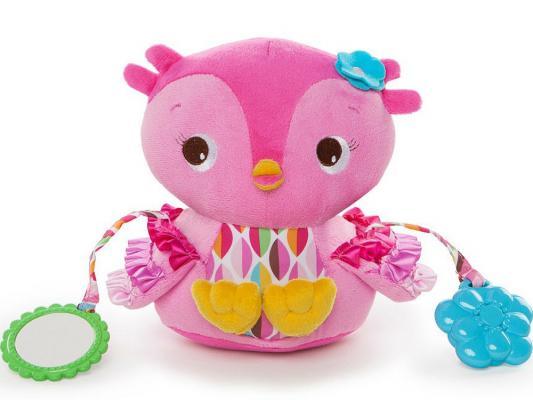 Развивающая игрушка «Совушка» BRIGHT STARTS 52032BS мягкие игрушки bright starts развивающая игрушка совушка