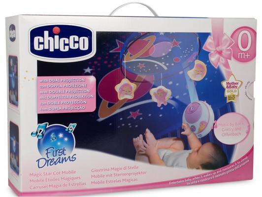 Подвеска мобиль  для кровати Волшебные звезды розовая, с д.у 0м CHICCO 24291 (Chicco)