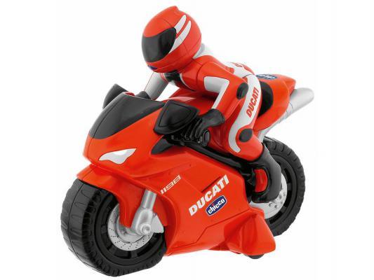 Мотоцикл на радиоуправлении Chicco Ducati 1198 RC пластик от 2 лет красный 3890