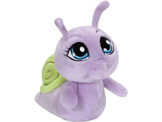 Мягкая игрушка улитка Nici 36452 плюш фиолетовый 35 см