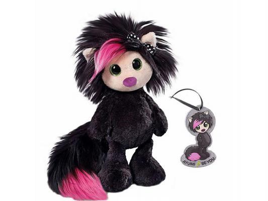 Мягкая игрушка Айюми Nici Тайна, сидячая с подвеской плюш черный 30 см 37401 nici мягкая игрушка овечка френсис сидячая