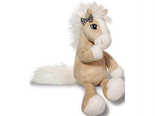 Мягкая игрушка лошадь NICI Даймонд плюш бежевый 80 см 37843 канцелярия nici ластик овечка кэнди 13 см