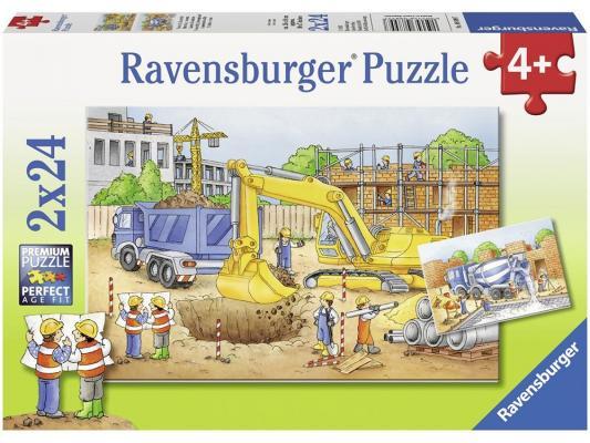 Набор пазлов Ravensburger Стройплощадка 48 элементов 8899 ravensburger пазл 2 в 1 стройплощадка 48 деталей